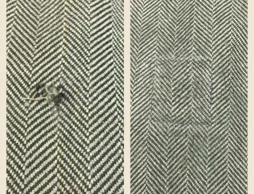 Reparation av tweedkavaj