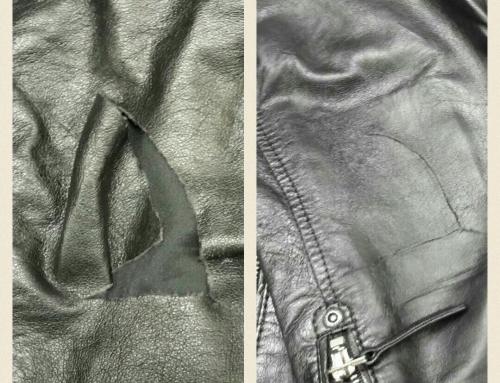 Reparation av läder